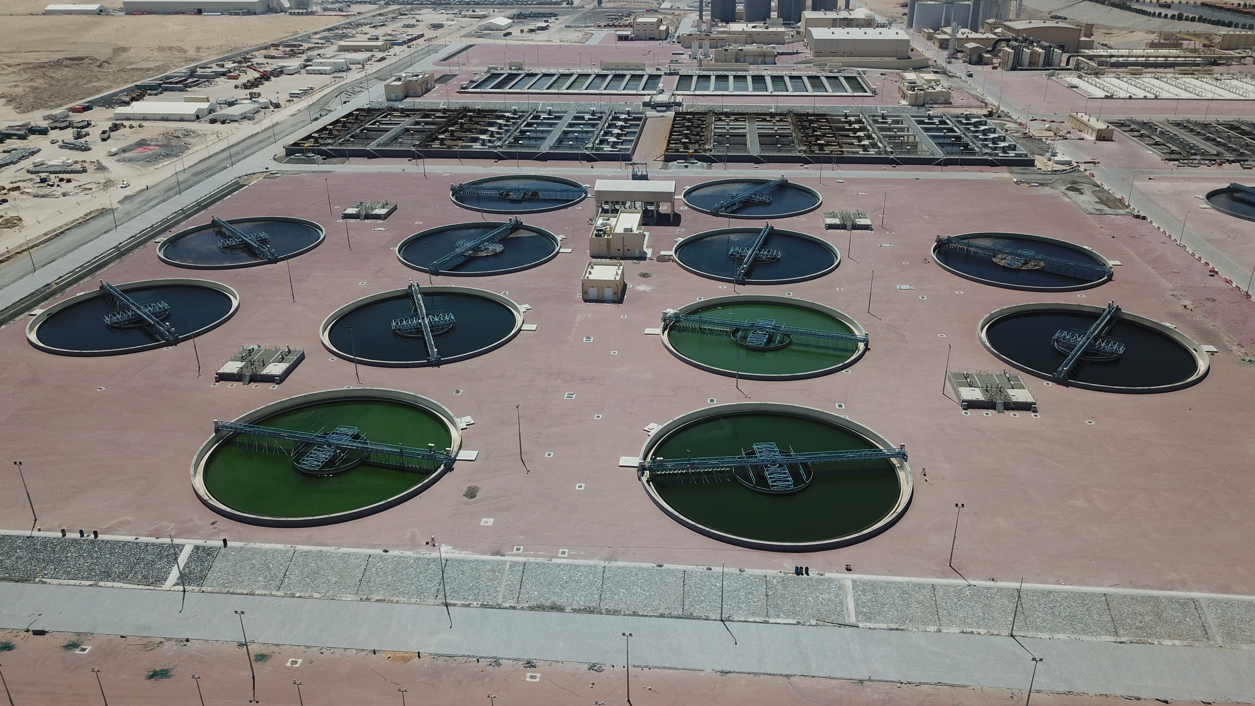 Jebel Ali Sewage Treatment Plant - BESIX