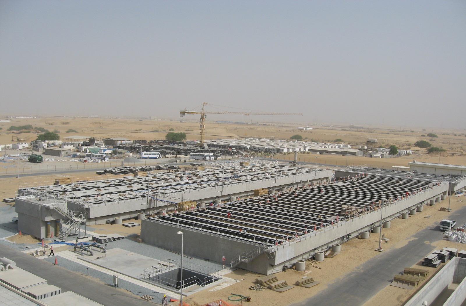 Ajman Wastewater Treatment Plant - BESIX