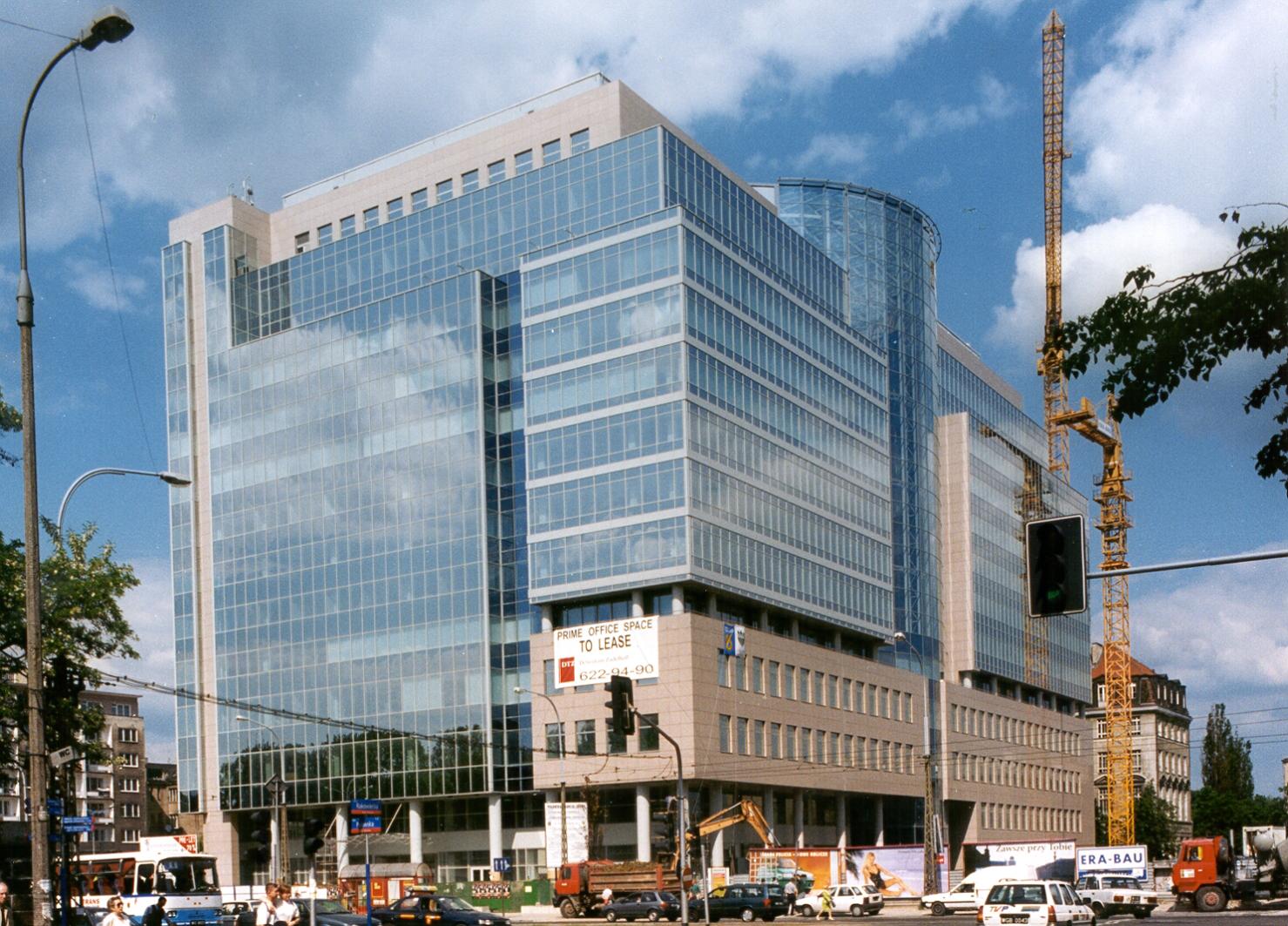 Pulawska Financial Center Besix